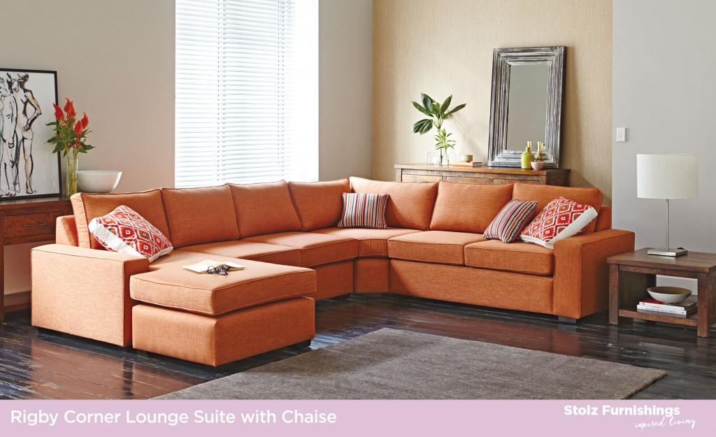 Fabric Lounge Suites Stolz Furnishings
