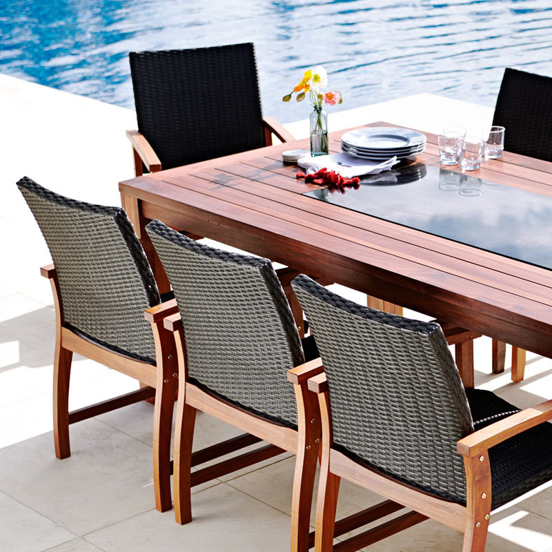 Maldives 9 Piece Dining Setting Part 15