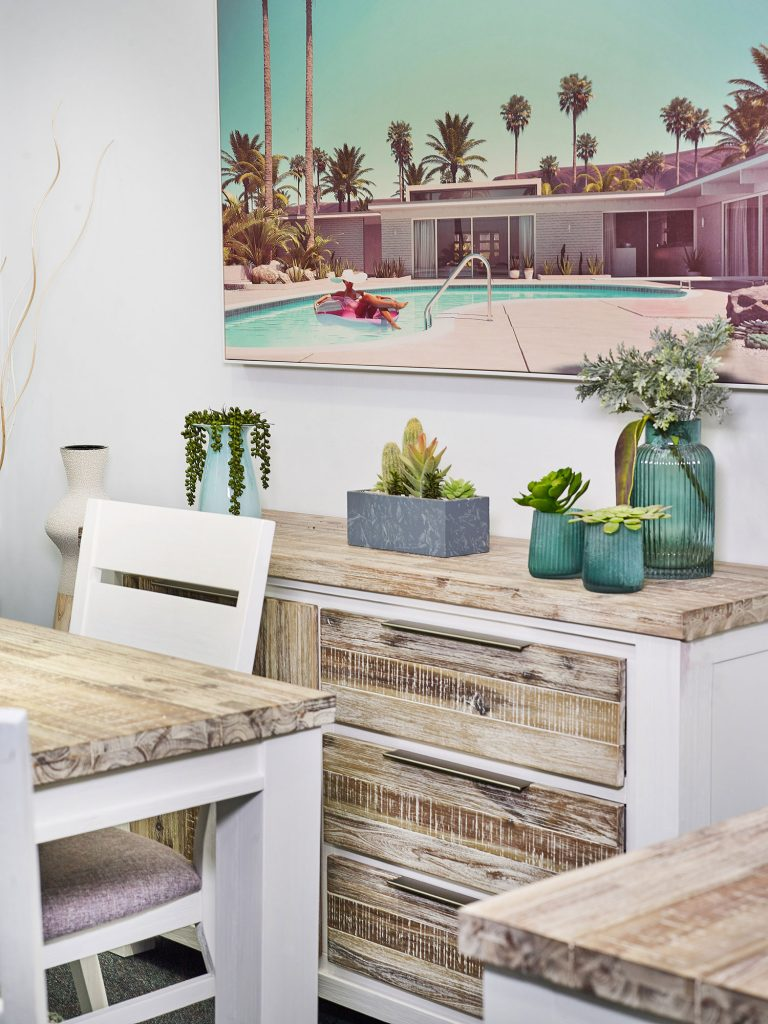 Create a resort-style feel with the new Homestead range