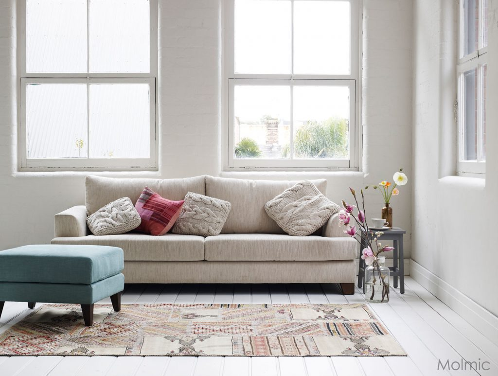 Made in Melbourne: Leading Fabric Sofas by Molmic